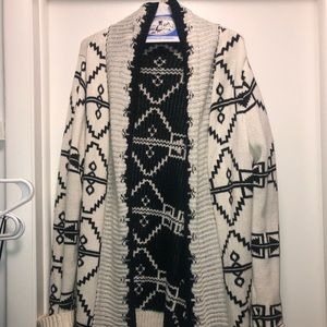 Long cardigan sweater. Very good condition